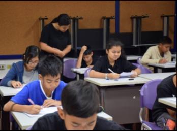 เรียนเสริมพิเศษภาษาอังกฤษวันเสาร์ ภาคเรียนที่ 2/2560