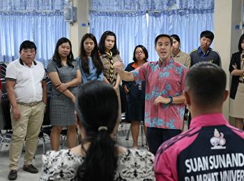 อาจารย์โรงเรียนสาธิตเข้าร่วมรับฟังการบรรยายพิเศษเรื่องการจัดการศึกษา โดยวิทยากรรับเชิญจากสถานทูตสหรัฐอเมริกา ประจำประเทศไทย