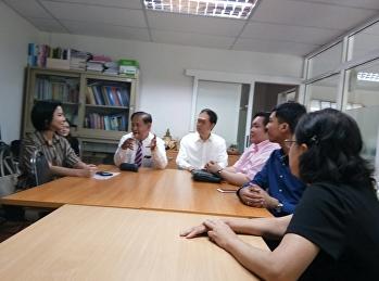 ผู้อำนวยการ รร.สาธิต ให้การต้อนรับ คณะผู้บริหารมหาวิทยาลัย Systems Plus College Foundation ประเทศฟิลิปปินส์