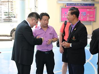 คณะผู้บริหาร รร.สาธิตฯ ต้อนรับ คณะผู้บริหารจากมหาวิทยาลัย Yunnan Normal Unversity