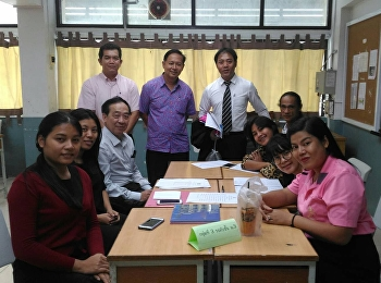 ประชุมพิจารณานักเรียนความประพฤติดีและคนดีศรีสุนันทา ปีการศึกษา 2560