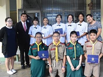 มอบประกาศนียบัตรรางวัลประกวดพานไหว้ครู ปีการศึกษา 2561