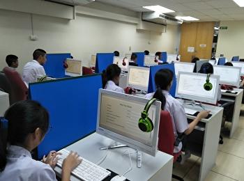 นักเรียน ม.4-ม.6 สอบวัดความรู้ภาษาอังกฤษ SSRU-TEP